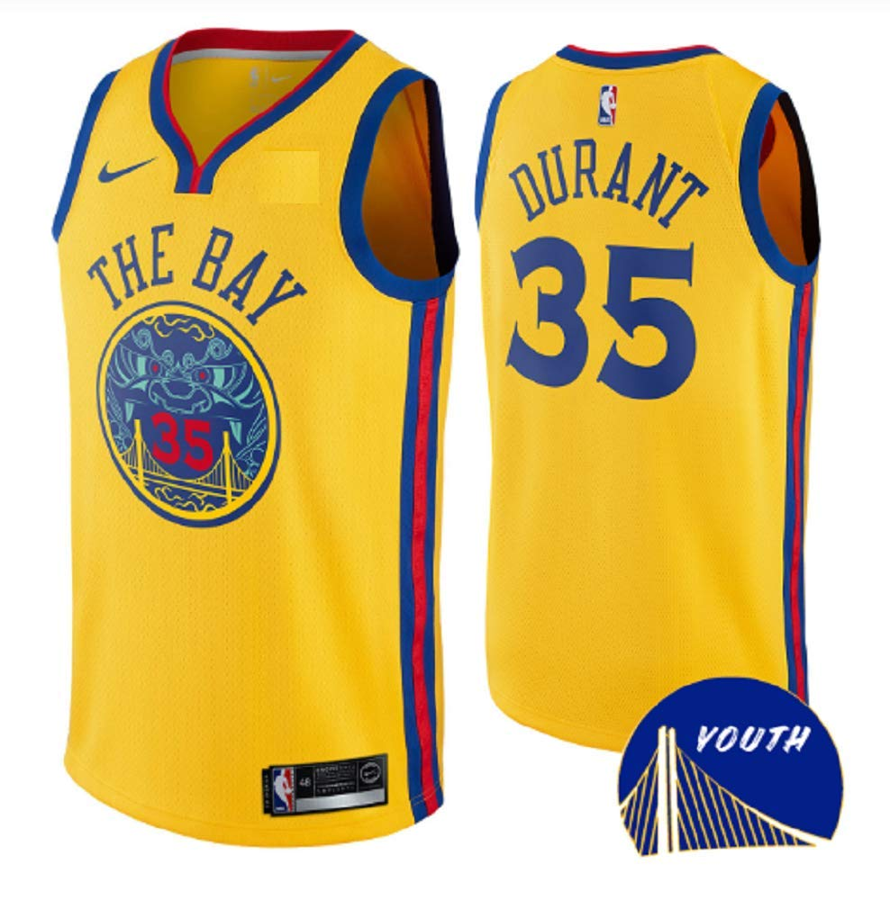 Amazon.com   Nike Youth Golden State Warriors Kevin Durant  The Bay   Swingman Jersey (Large)   Sports   Outdoors 8b2c966e8