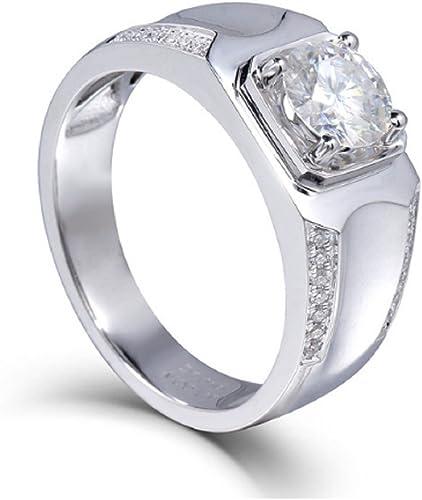 Gowe 1 Karat CT F Farbe Test positiven Moissanit Diamant