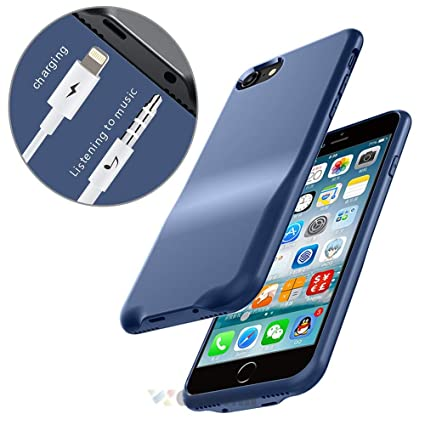 new style 549bf 72ca8 Cocomii 3.5mm Lightning Audio Armor iPhone 8 Plus/7 Plus Case NEW [3.5mm  Aux Headphone Jack Adapter Case] Call & Audio & Charger Shockproof Hard ...