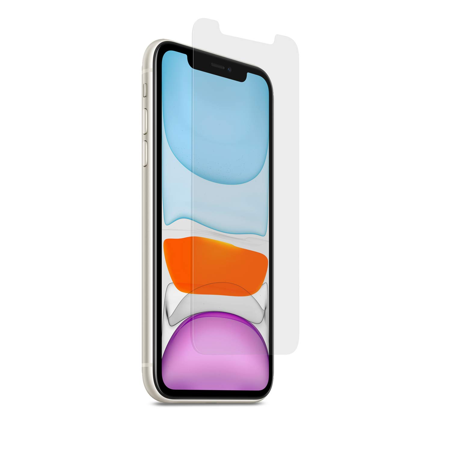 PureGear HD Clear Tempered Glass Screen Protector Compatible with Apple iPhone 11, w/Self Alignment Installation Tray, Touch Sensitive, Case Friendly, Lifetime Replacement Warranty by PureGear