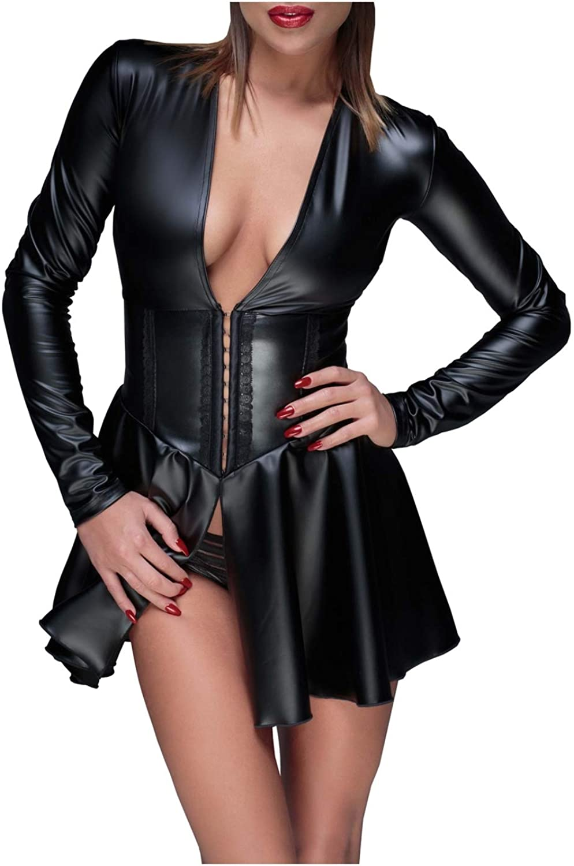 discount Noir Handmade Women's Mini Powerwetlook Cheap mail order specialty store from Dress