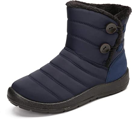 Amazon.com | Camfosy Snow Boots for