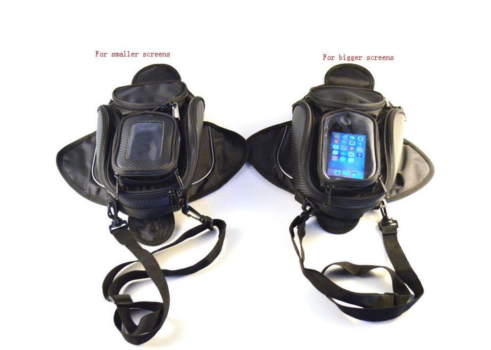 6S Pouch Iphone 6 Moto Borsa da Serbatoio Magnetica Motocicletta Equitazione Bagagliai con GPS