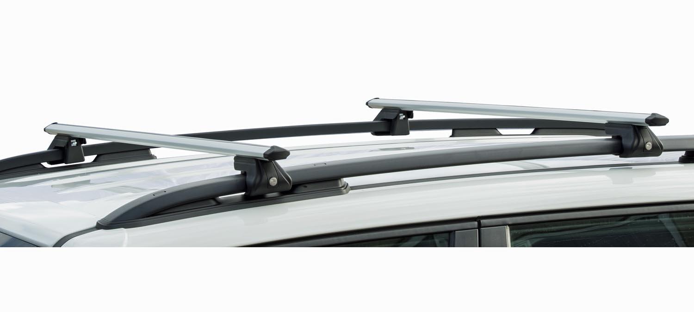 MENABO Aluminium Sherman 120/Skoda Karoq 18/Roof Rack up to 90kg Lock