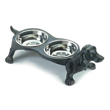 Amazon Com Accent Plus Metal Dog Food Bowl Wiener Dog Iron Stand