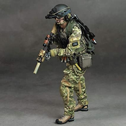 1//6 Scale DID Action Figures PLA Medical Service Camo Uniform Set w// Hat