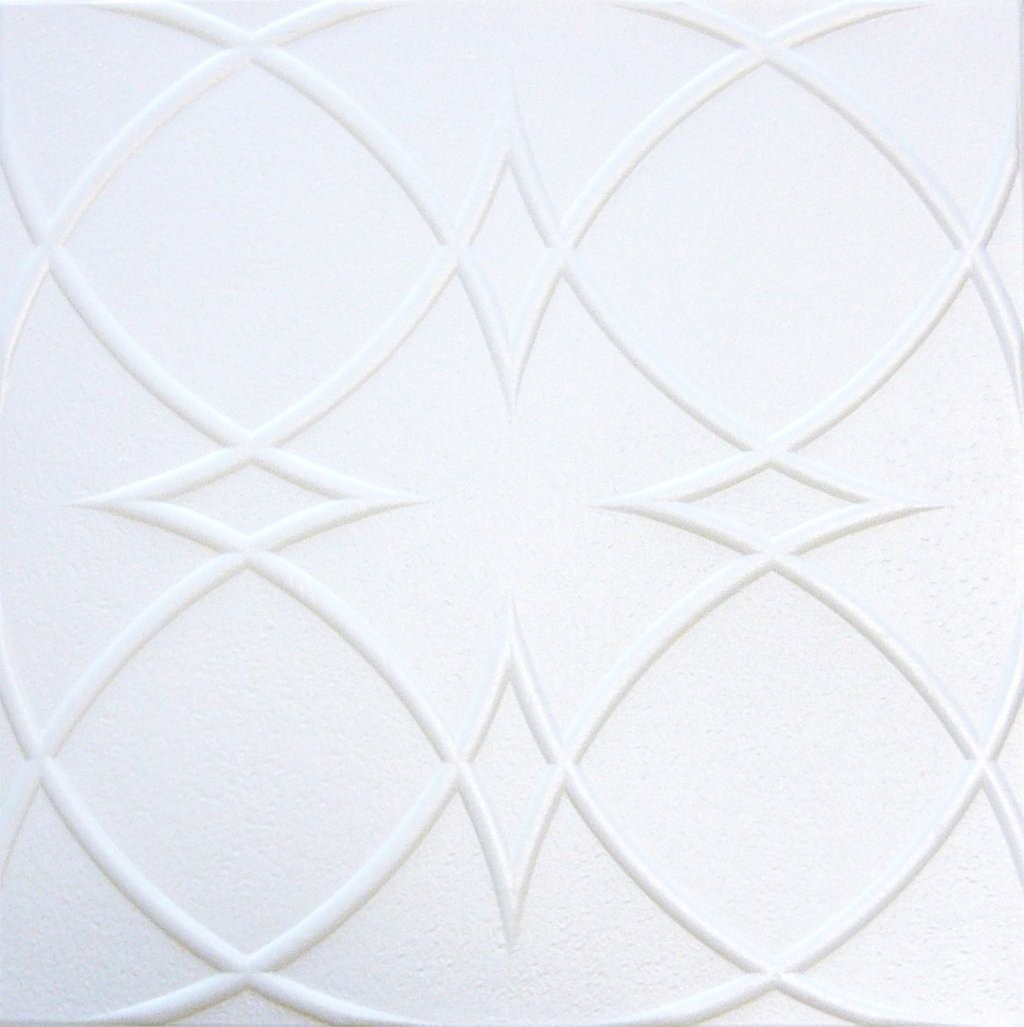 Amazon decorative styrofoam ceiling tile r 23 pack of 4 tiles 1 amazon decorative styrofoam ceiling tile r 23 pack of 4 tiles 18 20x20can be glued over popcorn and sheet rock pain table dailygadgetfo Gallery