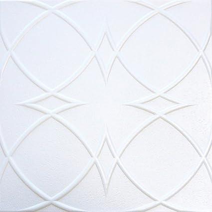 Amazon Com Decorative Styrofoam Ceiling Tile R 23 Pack Of 4
