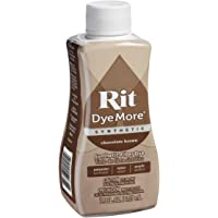 Rit Dye UR810.CHBR Fabric Liquid Dye Synthetic Dyemore, Chocolate Brown, 7-Ounce