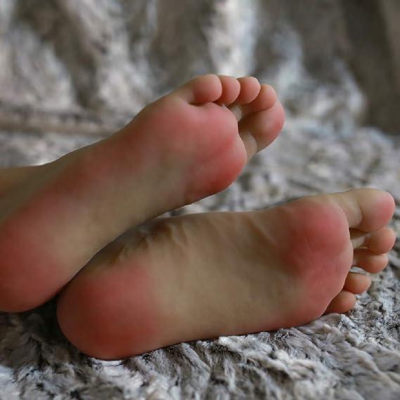 HEXEK 1 par de pies de maniquí de Silicona, Pantalla de Accesorios ...
