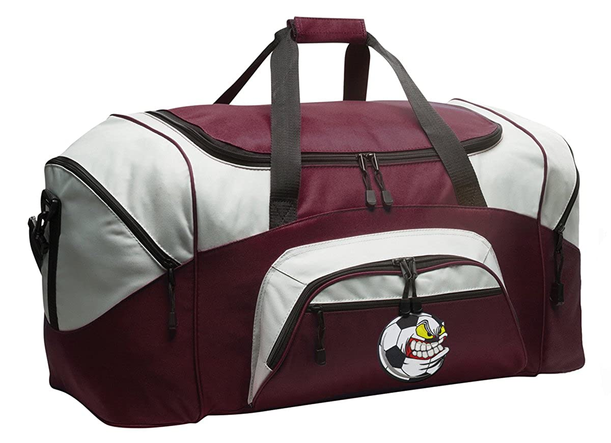Soccer Nut Duffle Bag SOCCER FANATIC Gym Bag Luggage Duffel