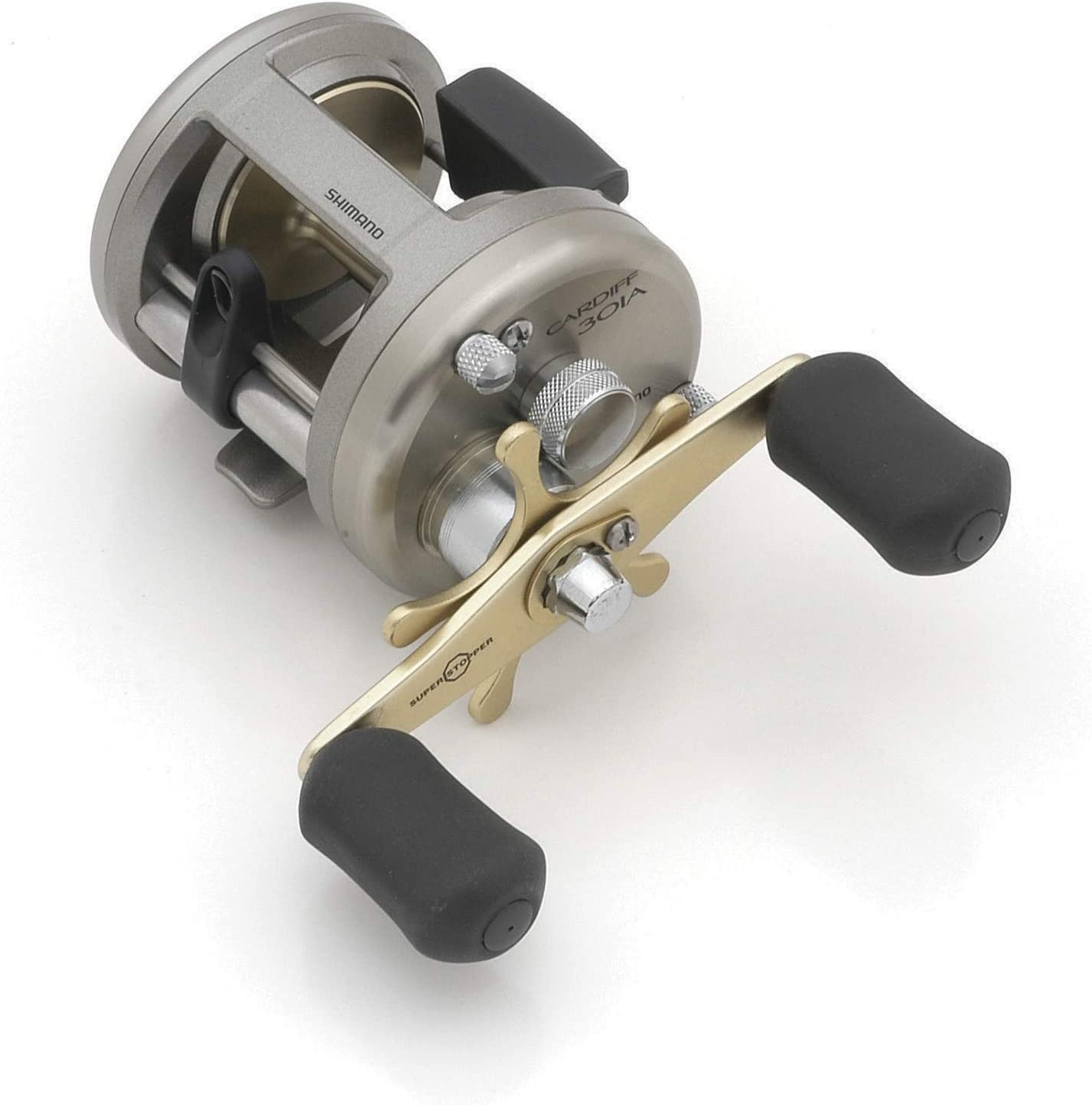 1 rodamientos de bolas 5.8:1 Shimano Cardiff Baitcasting 4