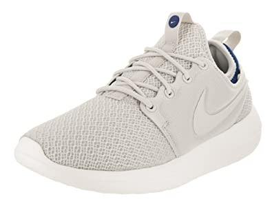 the latest 9ae16 f4214 Nike Womens Roshe Two Br Fabric Low Top Lace Up Running Sneaker, Beige, Size