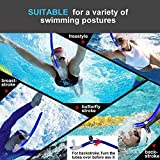 Focevi Swim Snorkel for Lap Swimming,Adult Swimmers