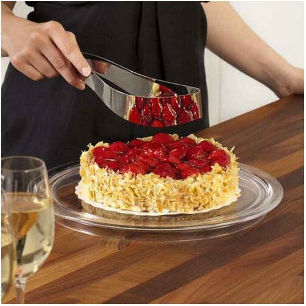 Stainless Steel Cake Slicer- cake server stainless steel perfect cake, pies and pastries