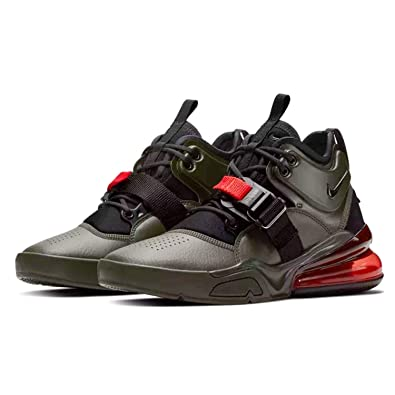 low priced e43d6 2bdfc Amazon.com | Nike Air Force 270 (GS) Big Kids | Sneakers