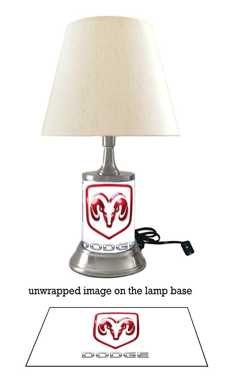 Amazon.com: Dodge lámpara con sombra: Home Improvement