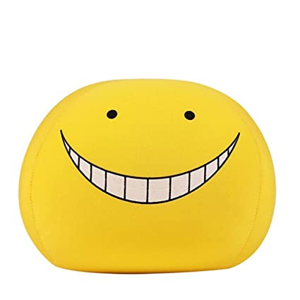 Amazon.com: JEWH Anime Kawaii Emoji Face – Almohada Ansatsu ...