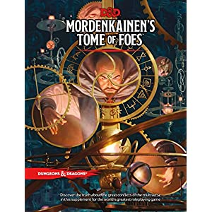 Ratings and reviews for D&D MORDENKAINEN'S TOME OF FOES (D&D Accessory)