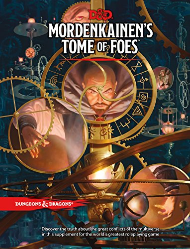 Book cover from D&D MORDENKAINENS TOME OF FOES (D&D Accessory) by Wizards RPG Team