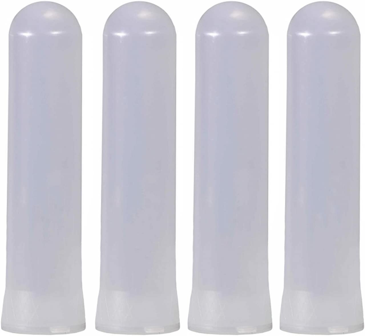 Tippmann Paintball Heavy Duty 140 Round Guppy Pods, Clear, Pack of 4