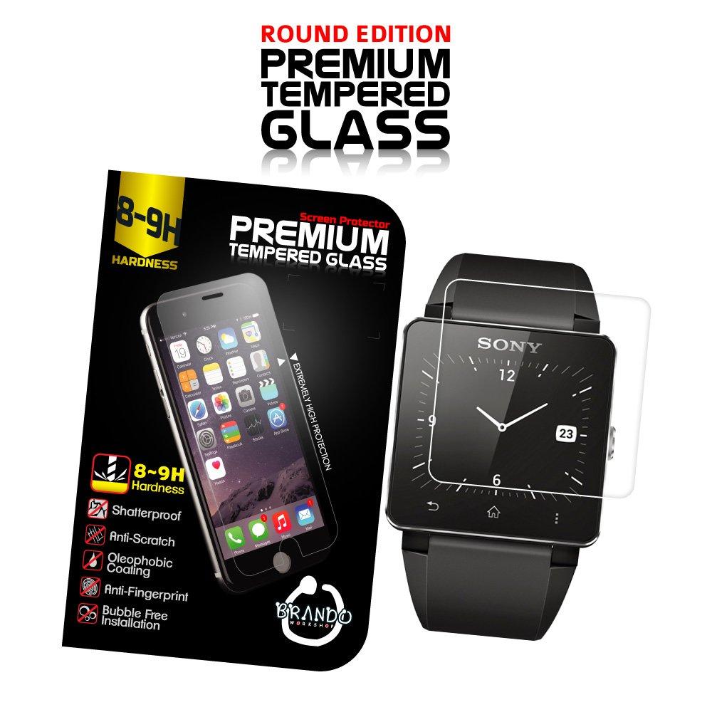 Amazon.com: Brando Premium Tempered Glass Protector (Rounded ...