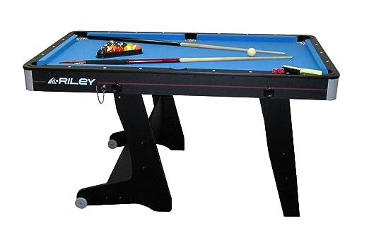 2 opinioni per Riley tavolo da biliardo carambola pool (152 x 84 x 79 CM, pieghevole