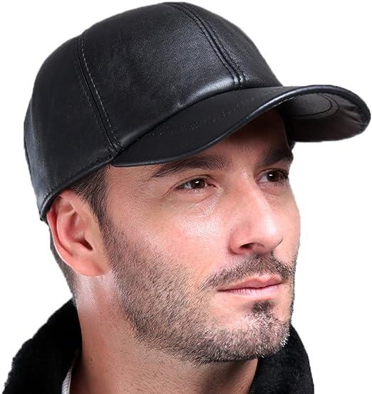 BASEBALL Cap//hat Men/'s Ladies Real Soft Lambskin Leather Cap Top Quality