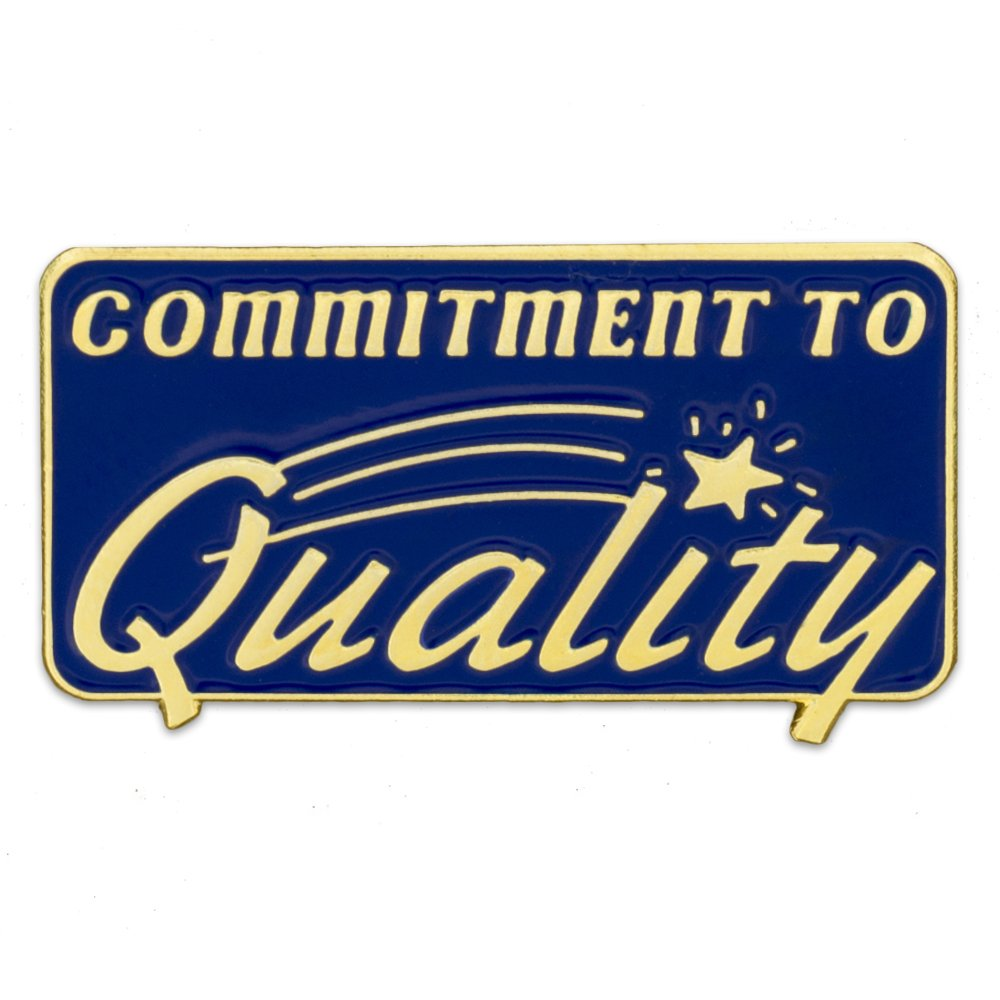 PinMart's Commitment to Quality Corporate Enamel Lapel Pin by PinMart