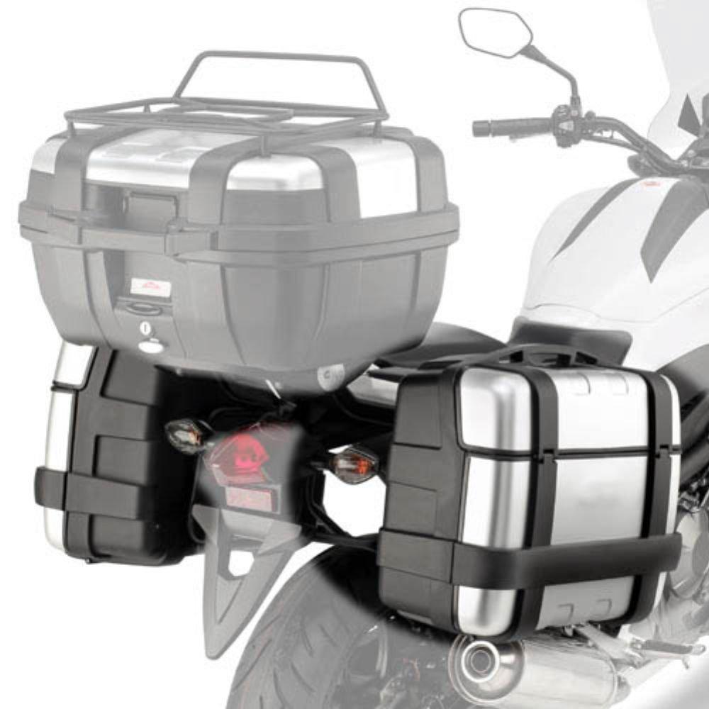 Honda nc700x 12//13 telaio specifico per valigie Laterali monokey Kappa