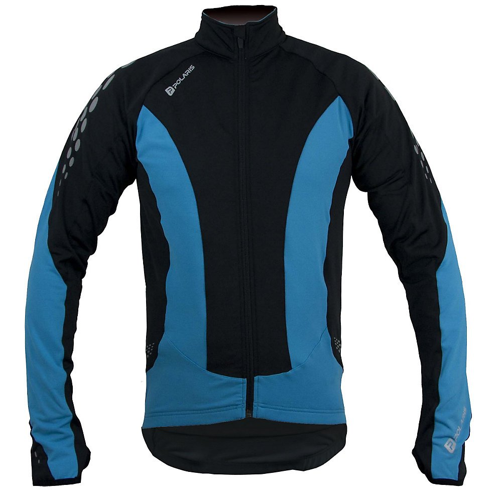 Polaris Venom Long Sleeve Jersey Cyan Schwarz 2 X Large