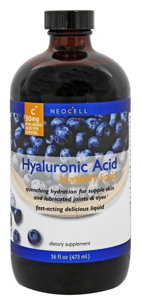 Neocell Hyaluronic Acid, Blueberry Liquid, 16 Fluid Ounce
