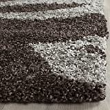 Safavieh Florida Shag Collection SG456-2880 Dark Brown and Grey Area Rug (8'6″ x 12′) Review