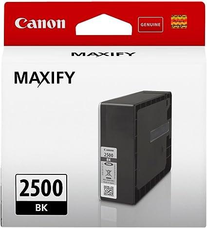 Canon Tintenpatrone Pgi 2500 Bk Schwarz Black Standard 29 1 Ml Original Für Maxify Drucker Bürobedarf Schreibwaren