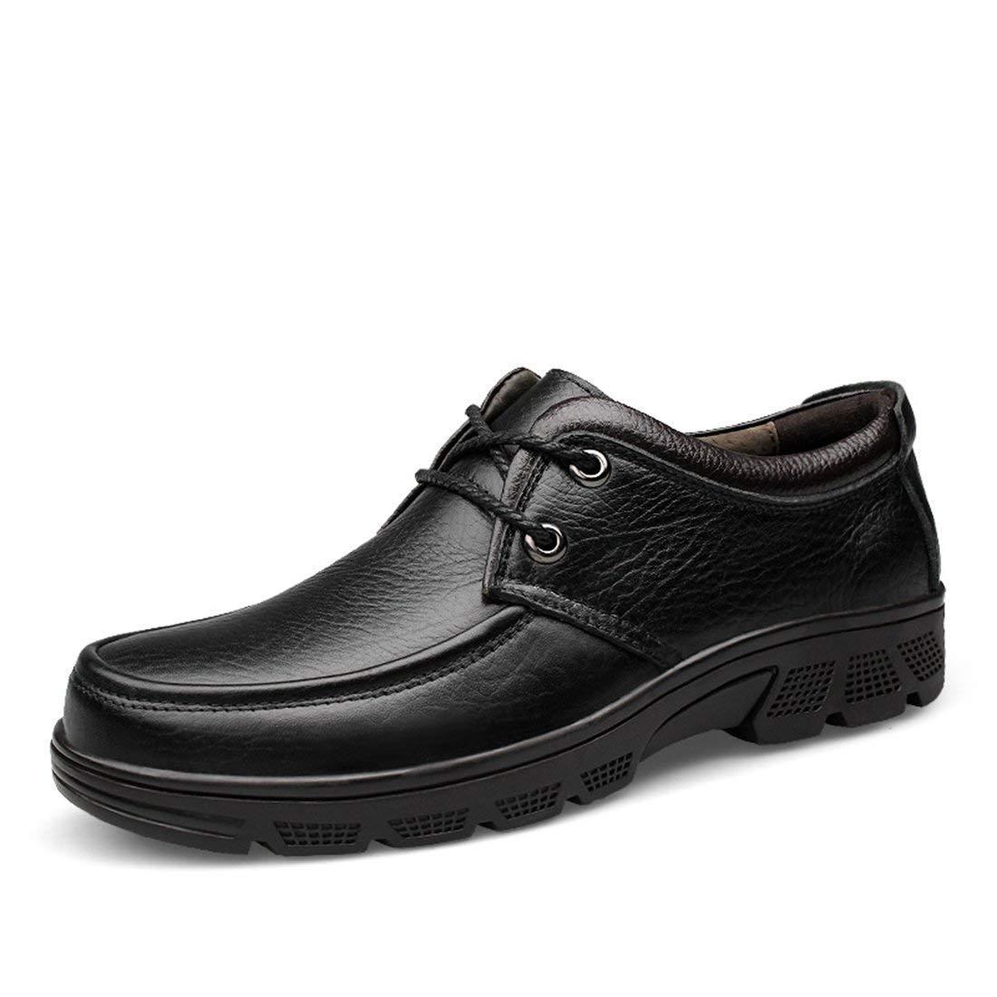 Herren Retro Casual Street Walking Schuhe (Farbe   Schwarz, Größe   5 UK)