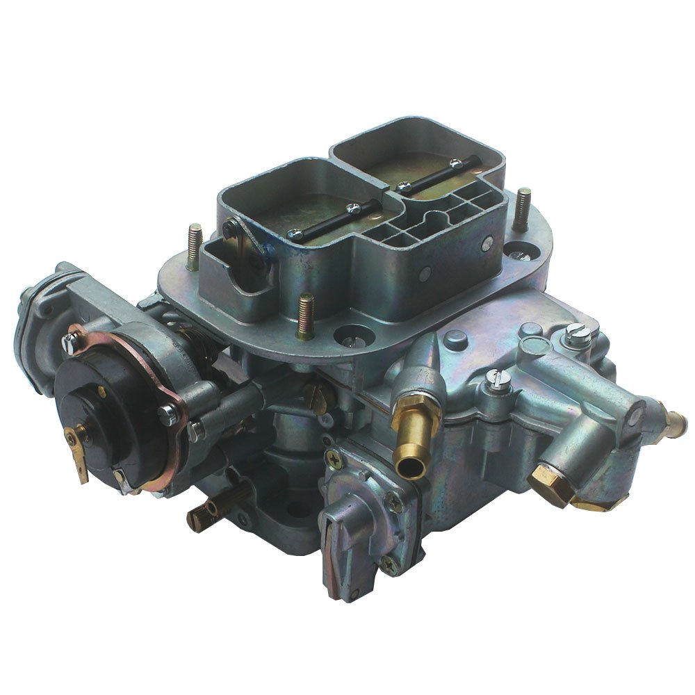 KIPA Carburetor For Weber 38X38 2 Barrel Fiat Renault Ford VW Dodge Toyota Pickup Daewoo Lada Seat Opel Jeep BMW Mitsubishi 4 Cylinder DGEV Electric Choke Carb Replace OEM # 19830.202 DGES 390