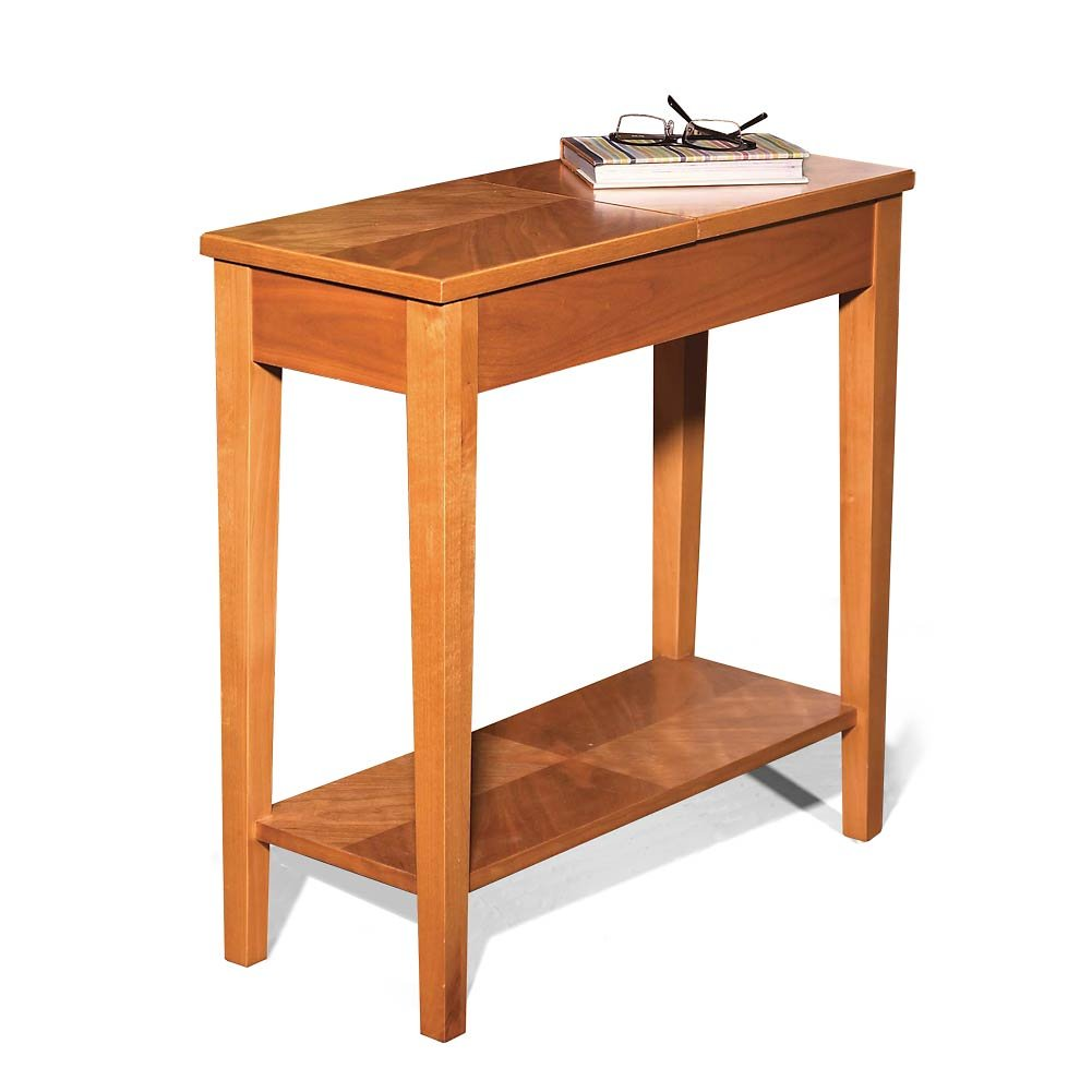 Amazon com levenger no room for a table table natural cherry fa4080 ch office products
