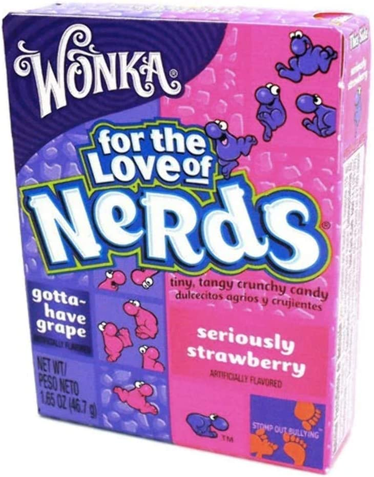 Wonka Nerds Strawberry/Grape 46g: Amazon.es: Hogar
