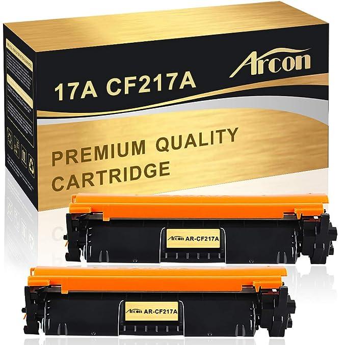 Arcon - Cartucho de tóner Compatible HP 17A CF217A para impresoras ...