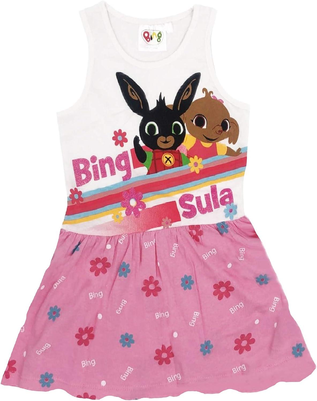 -Bing Vestito Coniglietto Mis. 1 Anni Estate 2020