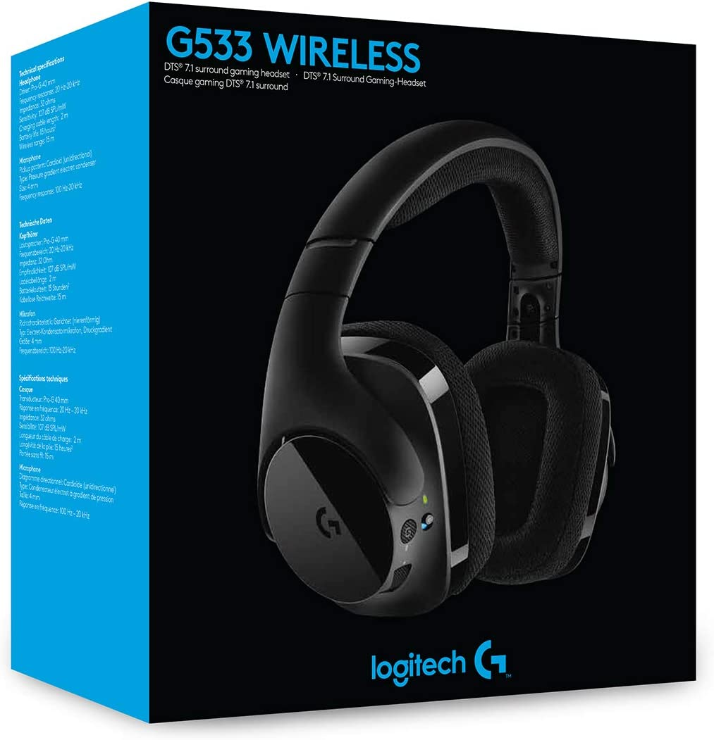 Logitech G533 Auriculares Gaming Inalámbricos