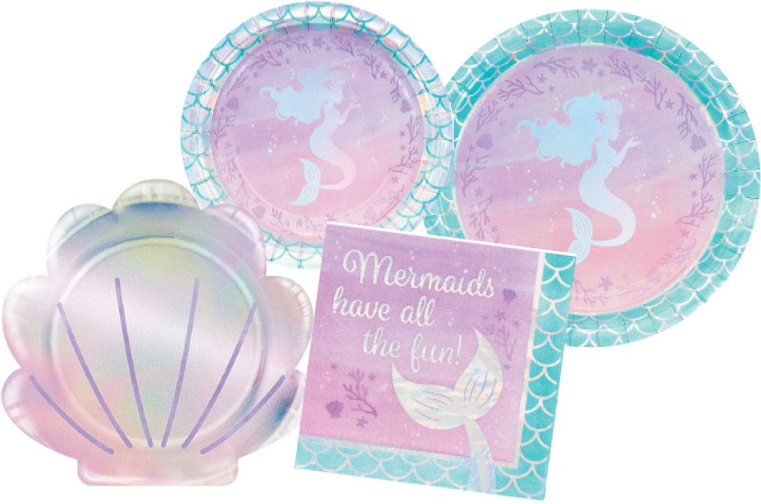 Mermaid Party Bundles for 16 Guests