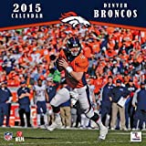 Turner Perfect Timing 2015 Denver Broncos Team Wall Calendar, 12 x 12 Inches (8011695)