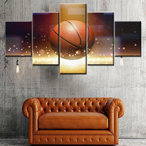 ZEMER Deportes Baloncesto Cuadros En Lienzo Art Wall Imágenes ...