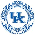 Thirstystone Stoneware Coaster Set, University of Kentucky Pattern