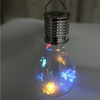 YJYDADA - Bombilla de luz LED para exteriores, impermeable, giratoria, para jardín, acampada: Amazon.es: Iluminación