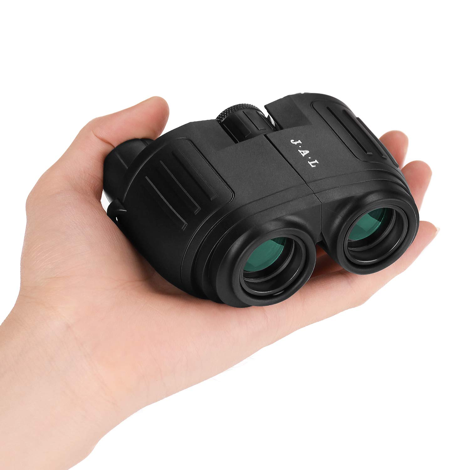 UncleHu 10X25 Binoculars for Adults and Kids Children Compact with Low Light Night Vision, High Power Waterproof Binocular Telescope Easy Focus for Bird Watching, Hunting, Travel, Stargazing, Football