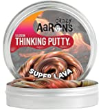 Crazy Aaron's Thinking Putty, 3.2 Ounce, Super Illusions Super Lava