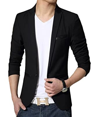 Benibos Men's Slim Fit Casual Premium Blazer Jacket at Amazon ...