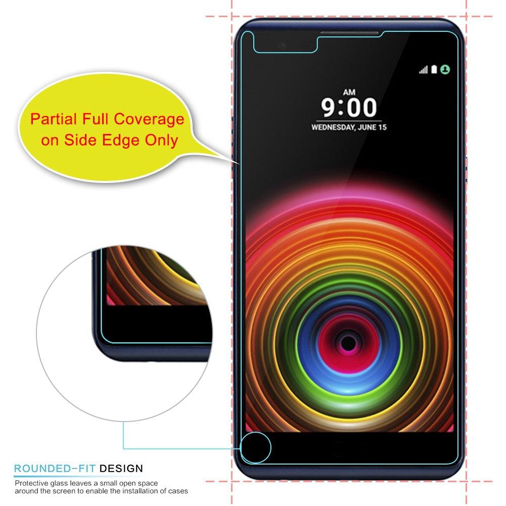 LG X Power Protector de Pantalla (3 Paquetes), J&D [Cristal Templado ...